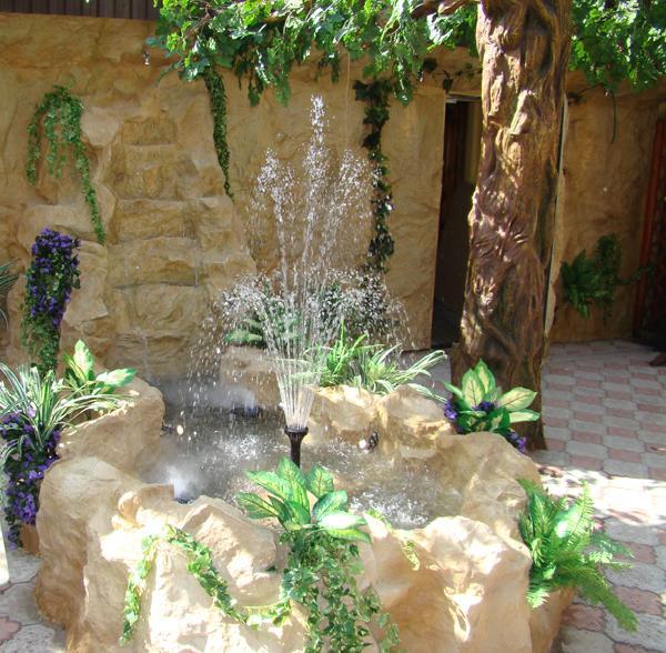 Фото декоративные водопады своими руками фото
